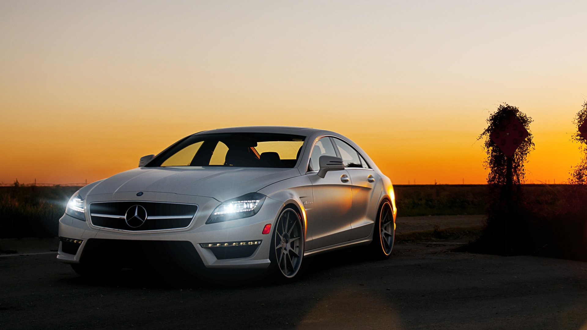 Mercedes Benz CLS63 Wallpapers HD Wallpapers 1920x1080