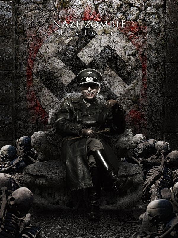 Nazi zombie by djaledit 600x800