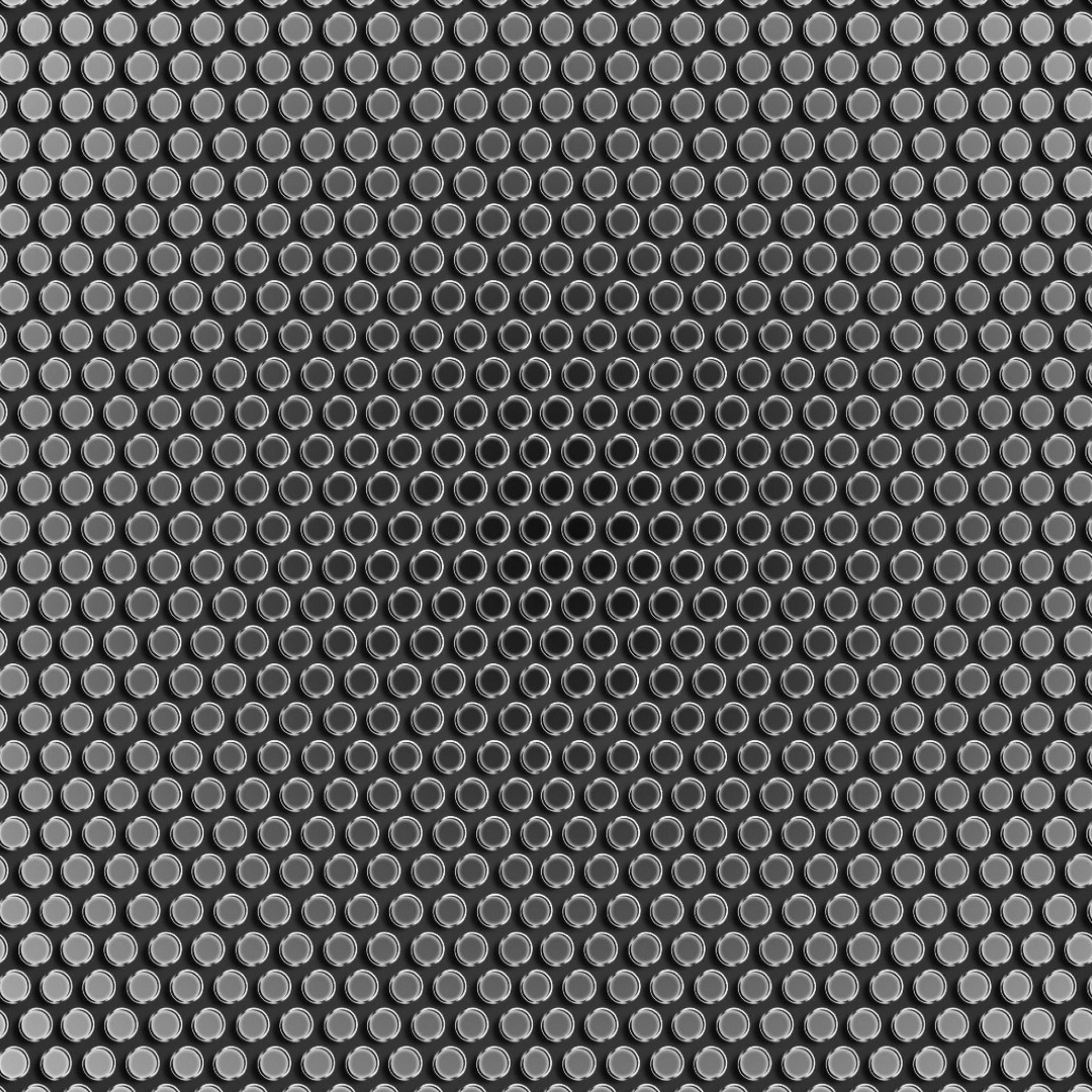 2048x2048 Wallpaper mesh light background metal texture 2048x2048