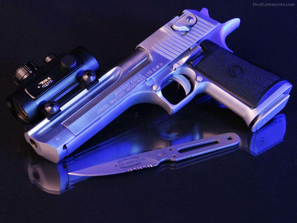 Gun Wallpaper 50 1024x768