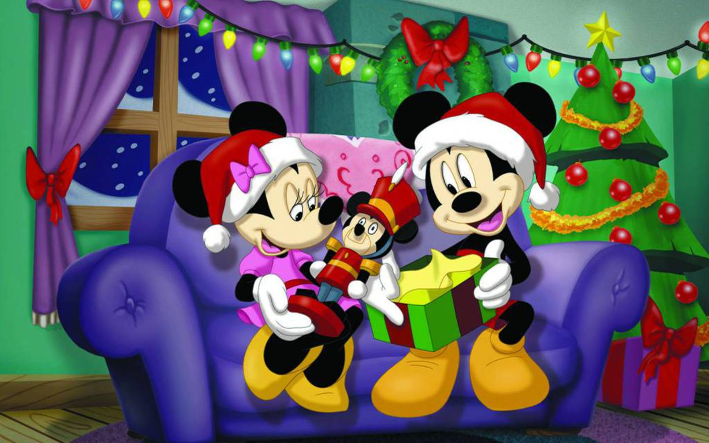 Cute Disney Christmas Desktop Wallpaper wallpaper Wallpapers   HD 1440x900