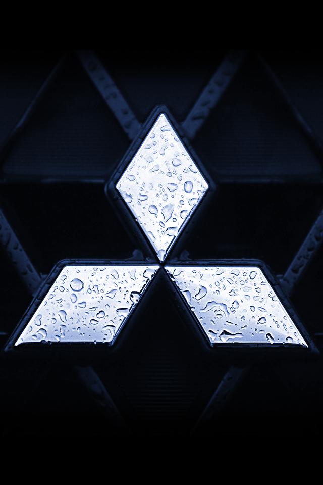 Mitsubishi Logo Wallpaper 640x960