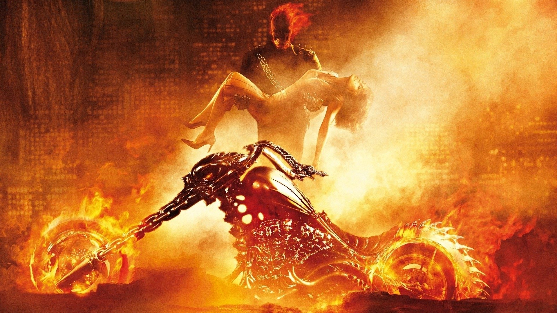 Fotos   Terms Ghost Rider Wallpaper Ghost Rider Bike 1920x1080
