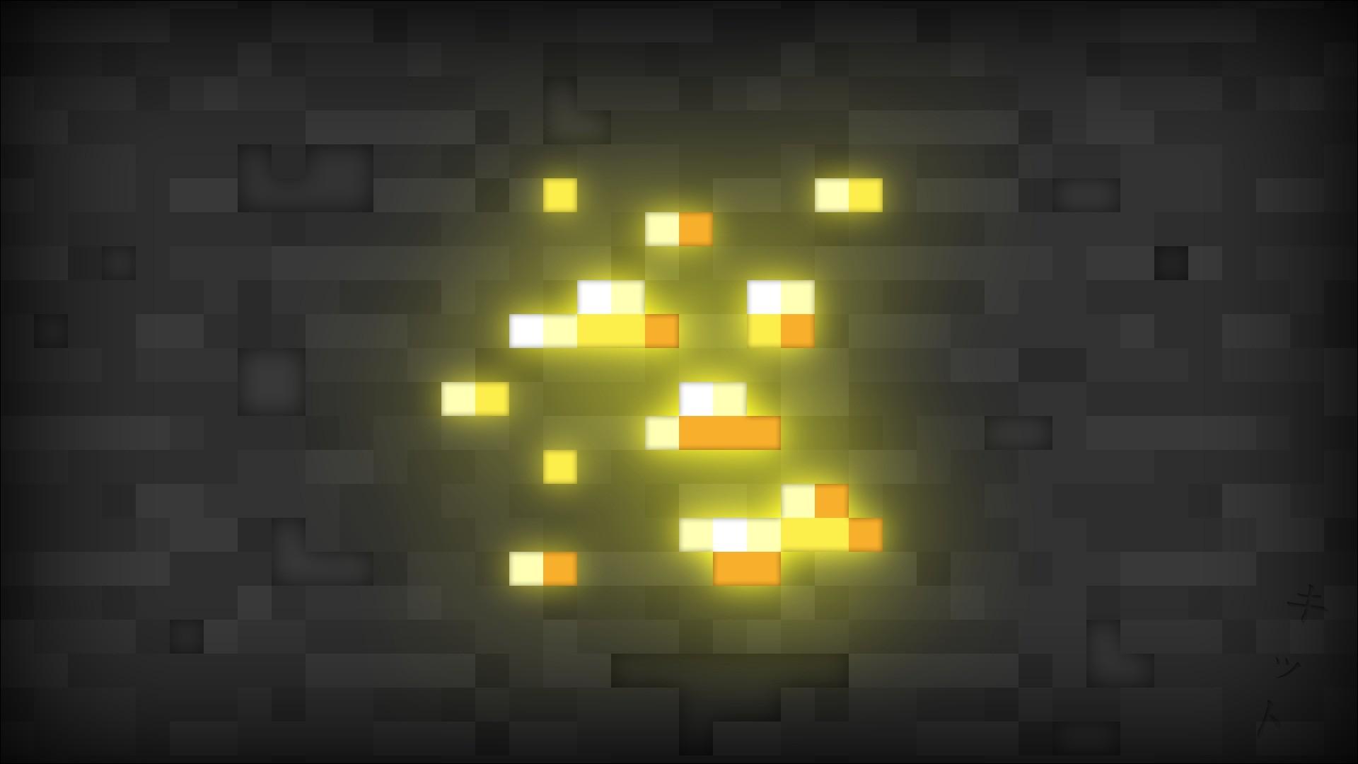 Minecraft Gold Block   Nexus Wallpaper 1920x1080