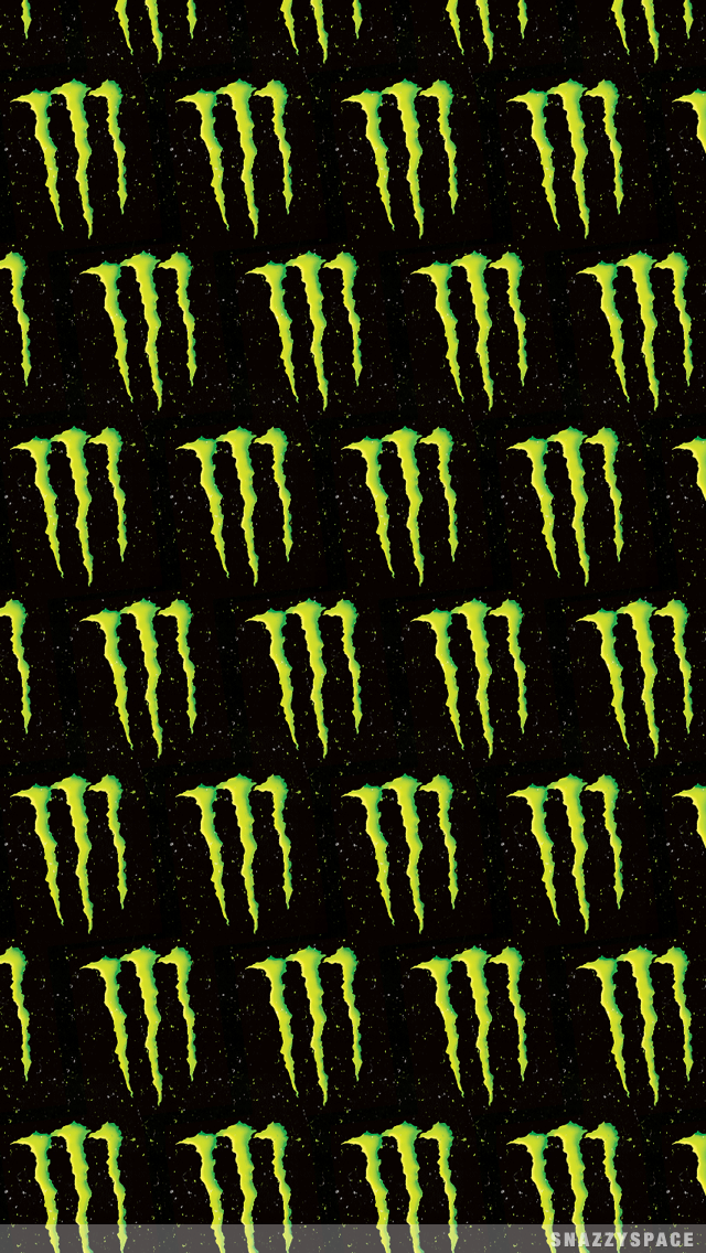 Installing this Monster Drink iPhone Wallpaper is very easy Just 640x1136