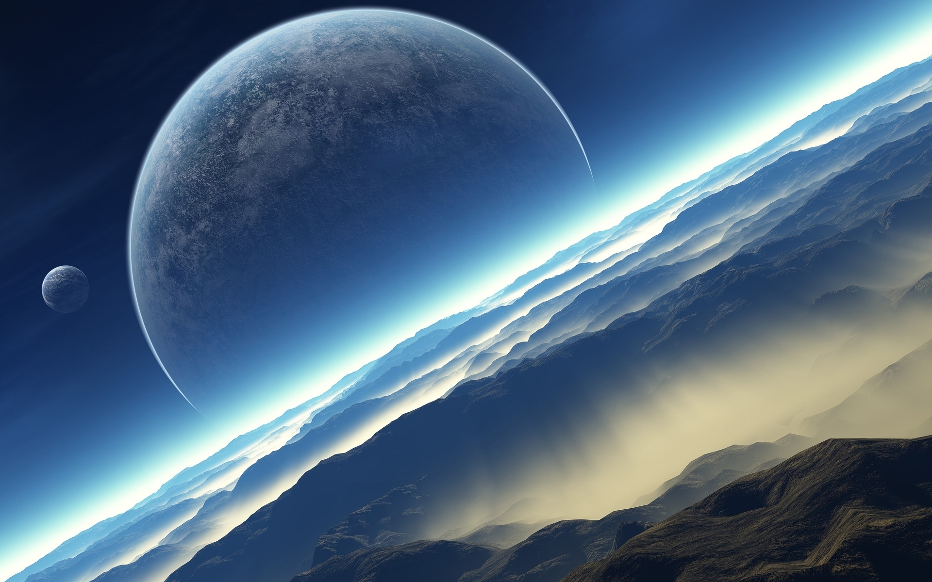 Space Desktop Wallpaper 1920x1200