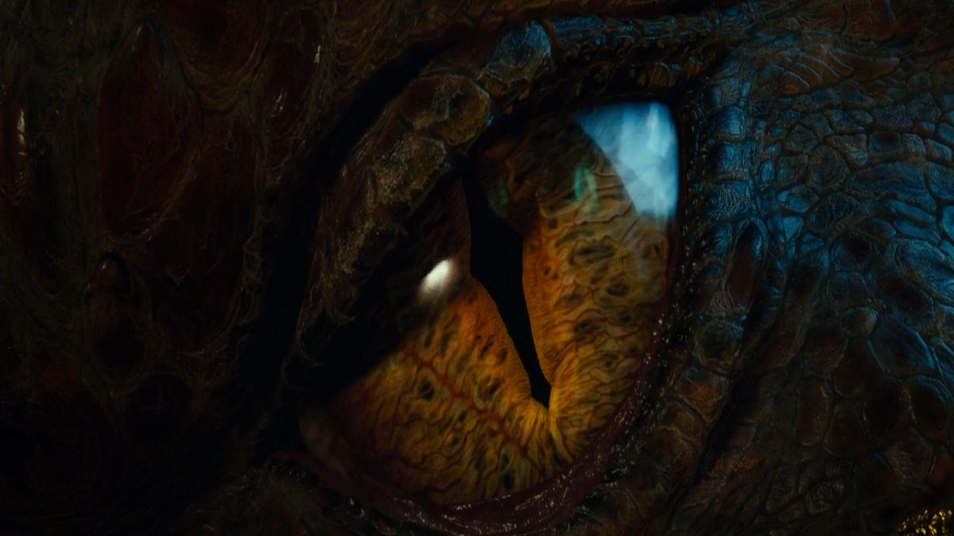 Eyes dragons the hobbit smaug wallpaper 64877 1920x1080