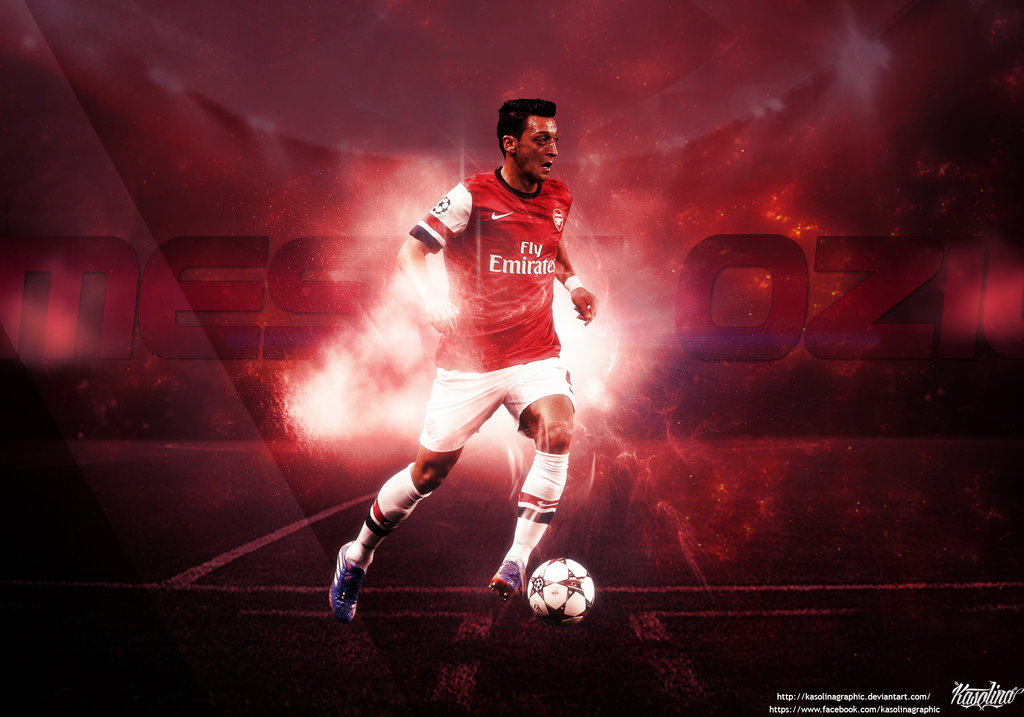 Free Download Mesut Ozil Wallpaper By KasolinaGraphic