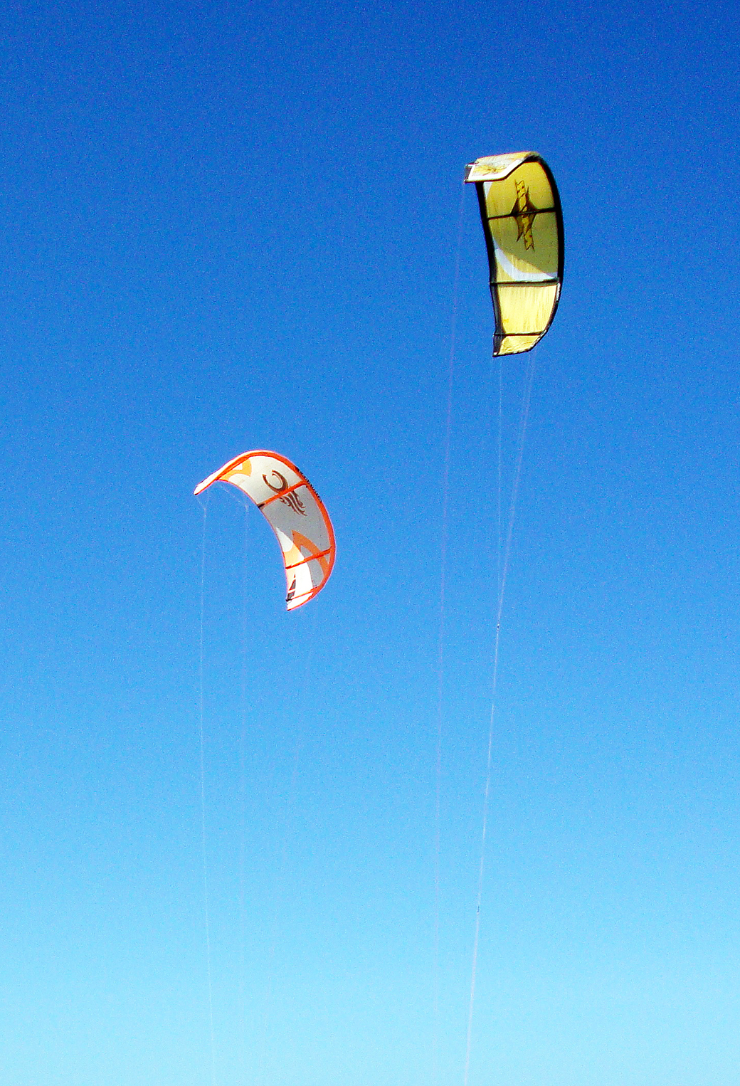 Kite Surf flying 3Wallpapers iPhone Parallax Les 3 Wallpapers iPhone 1040x1526