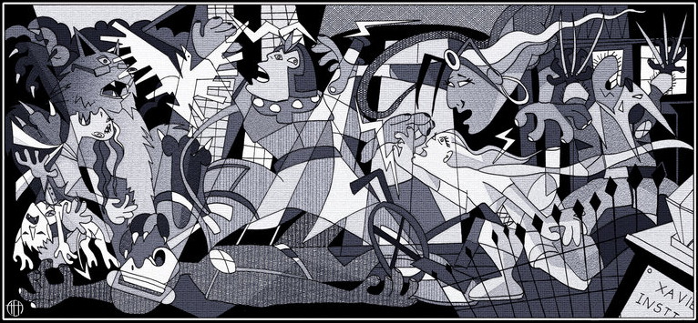Picasso Guernica Wallpaper Pictures 766x355