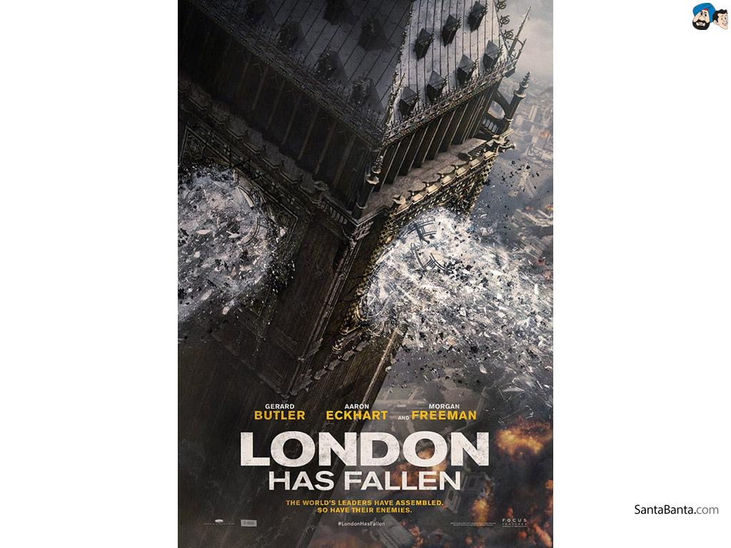 London Has Fallen Movie Wallpaper 2 1024x768