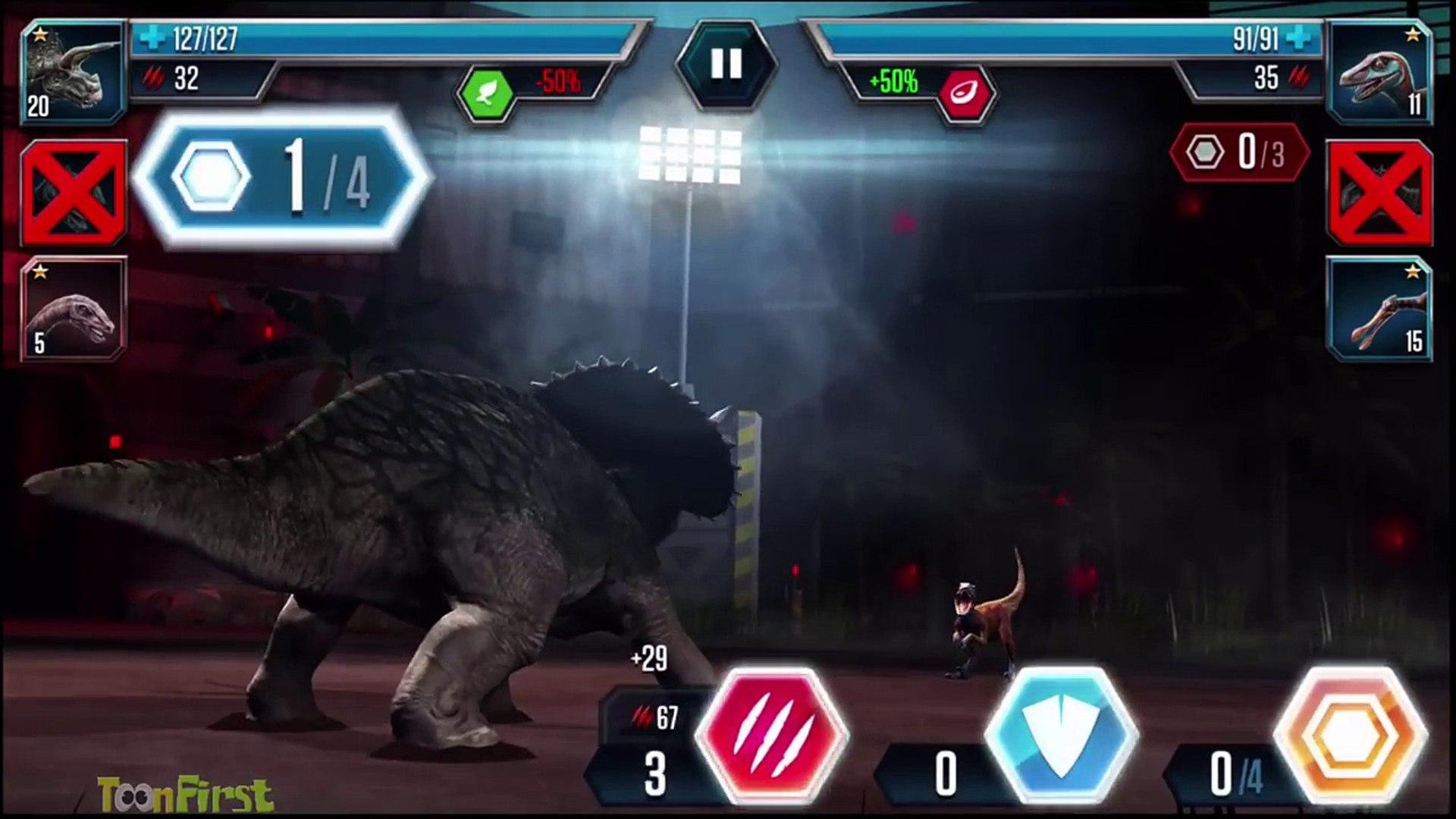 Carnotaurus Dinosaur   Jurassic World   The Game   Stage 8   video 1920x1080