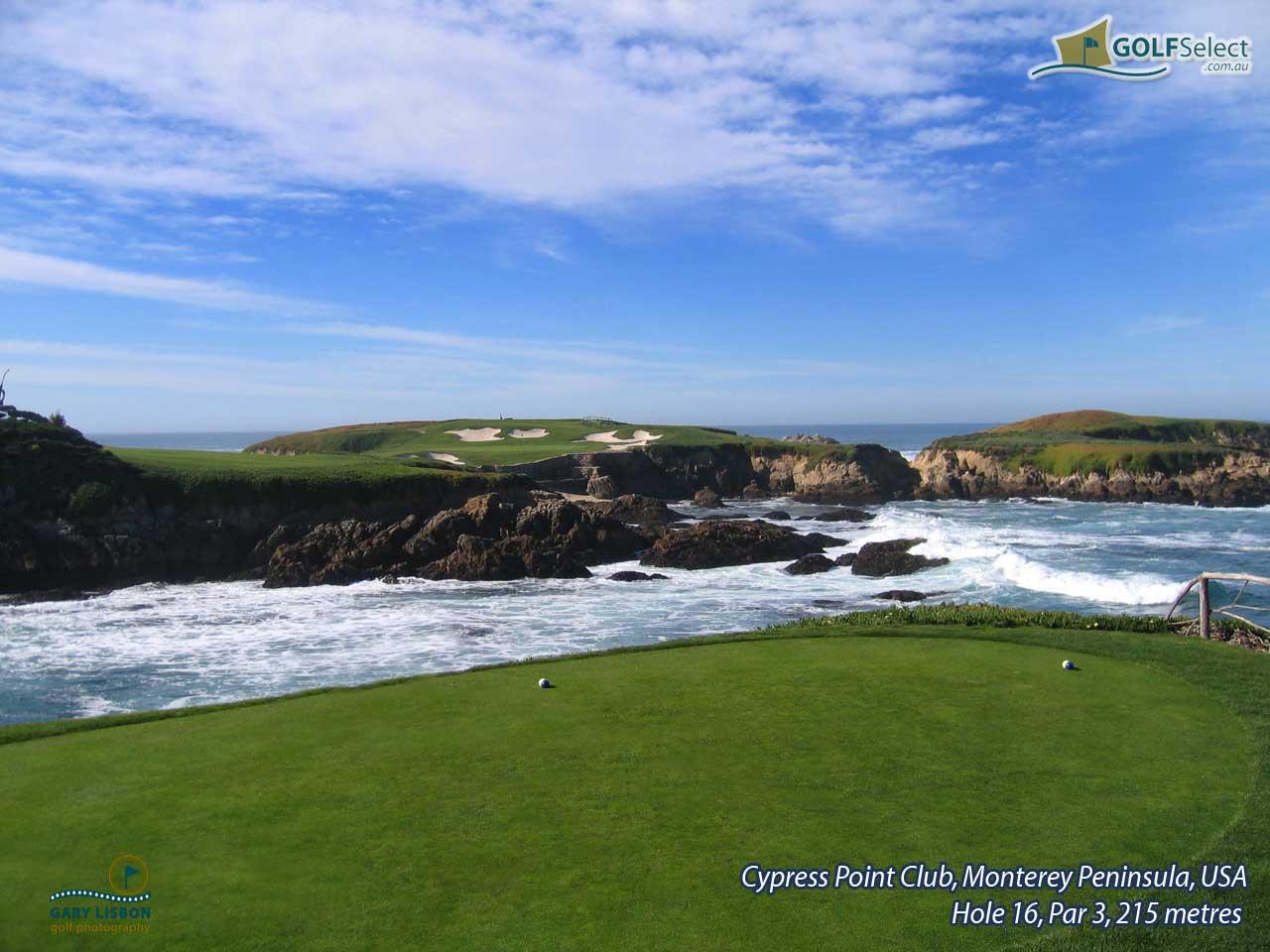 GOLFSelect   Golf Wallpaper   Cypress Point Club   Hole 16 Par 3 215 1280x960