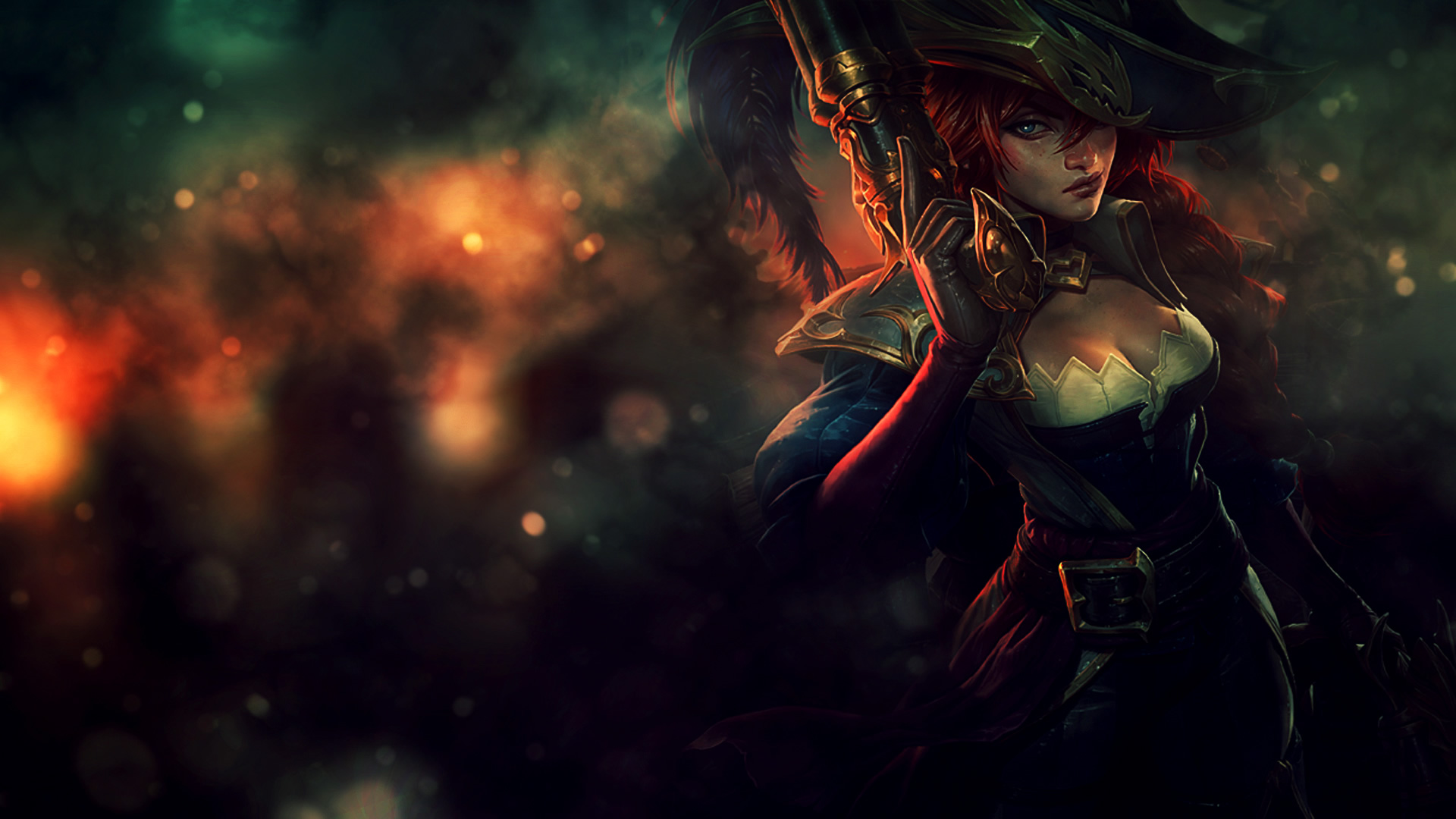 49 Captain Miss Fortune Wallpaper On Wallpapersafari