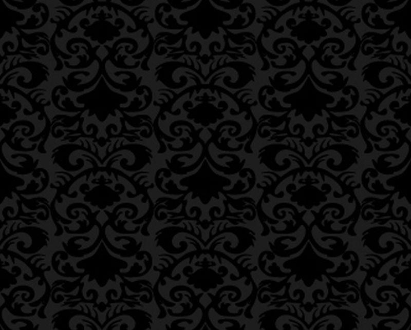 black design floral patternjpg phone wallpaper by nicolenicotine 800x643