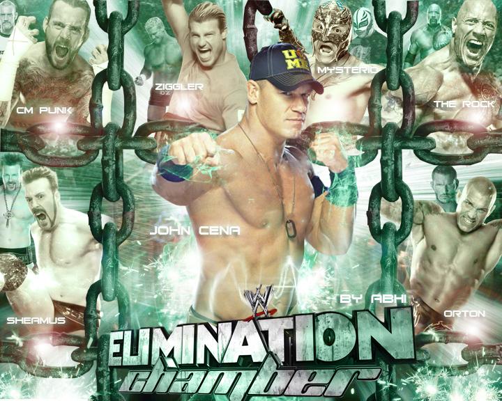 Elimination Chamber 2013 Wallpaper by abhishekawsomesharma 720x576