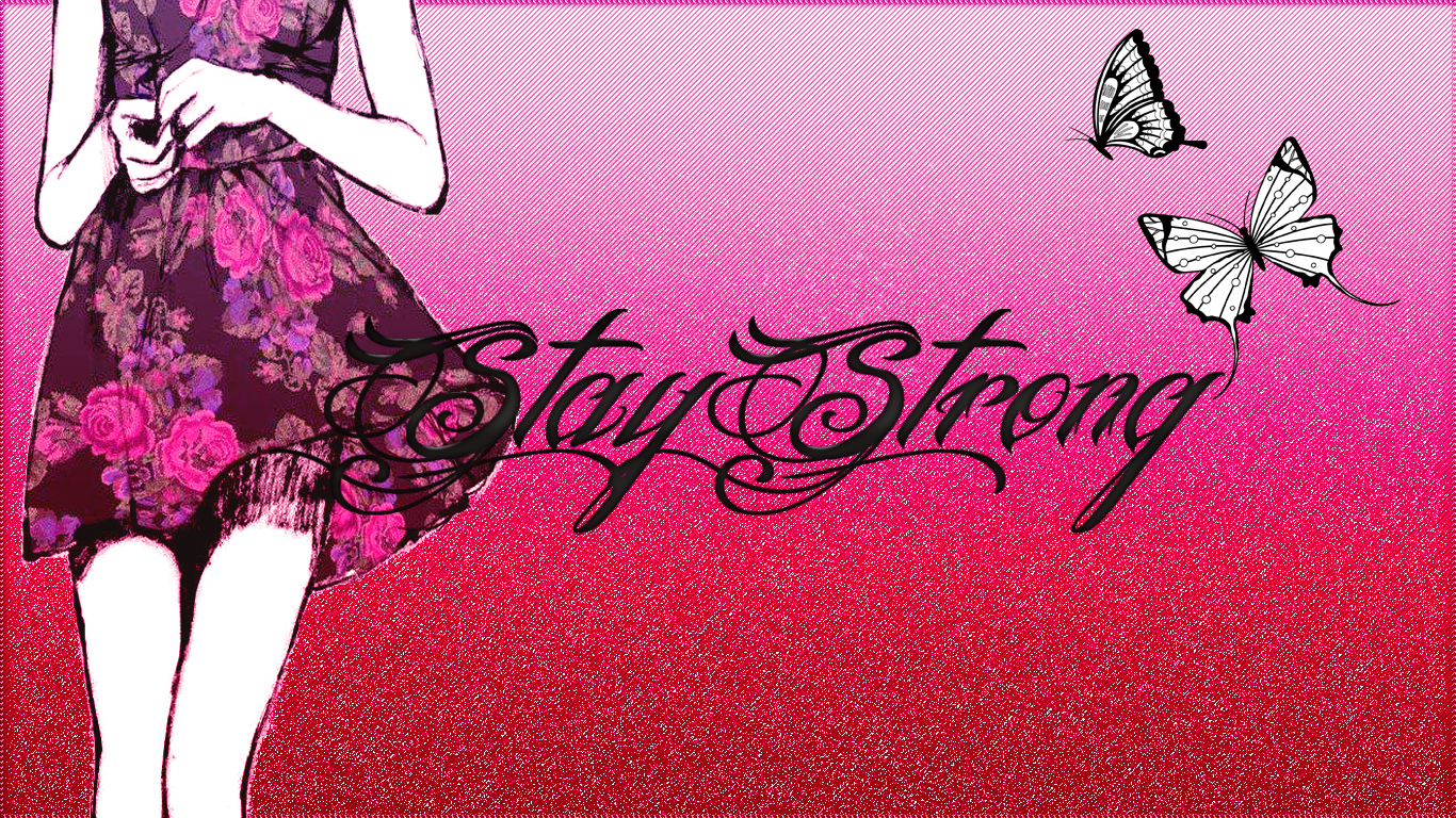 Demi Lovato Stay Strong Wallpaper Wallpaper stay strong by 1366x768