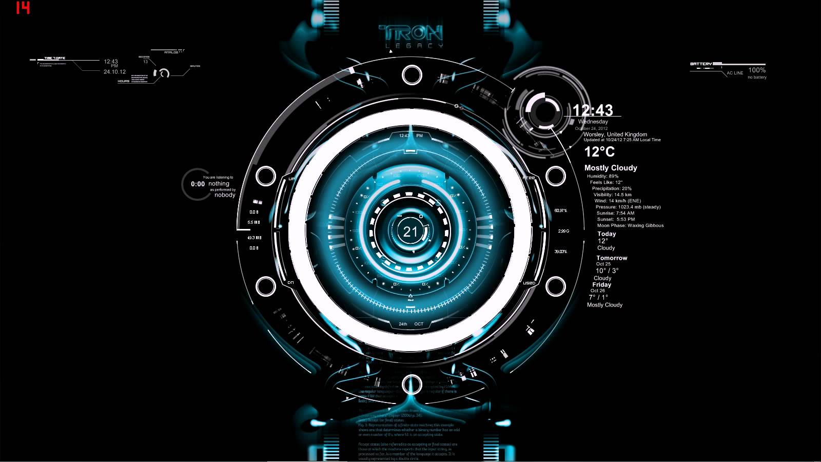 jarvis theme for windows 8 1600x900