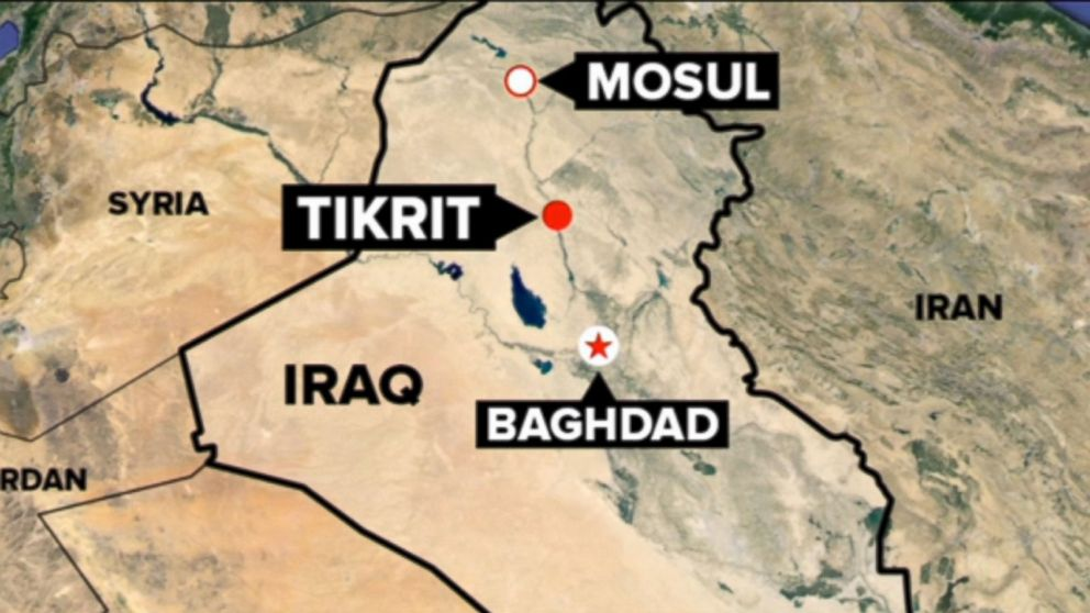 Tikrit Offensive Iranian General Steps Out US Steps In   ABC News 992x558