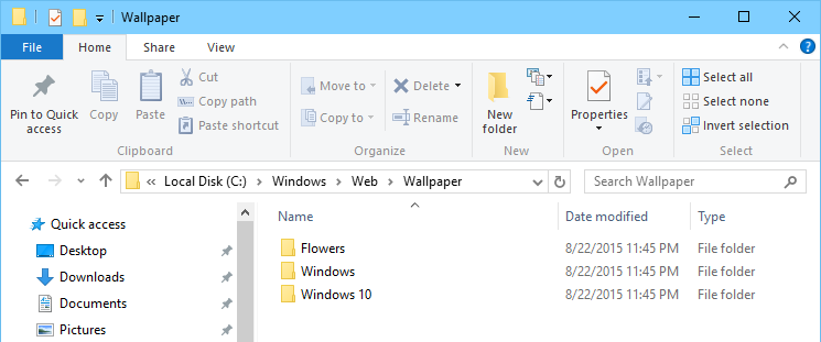 Where Are Desktop Wallpapers and Lock Screen Backgrounds Stored in 745x311