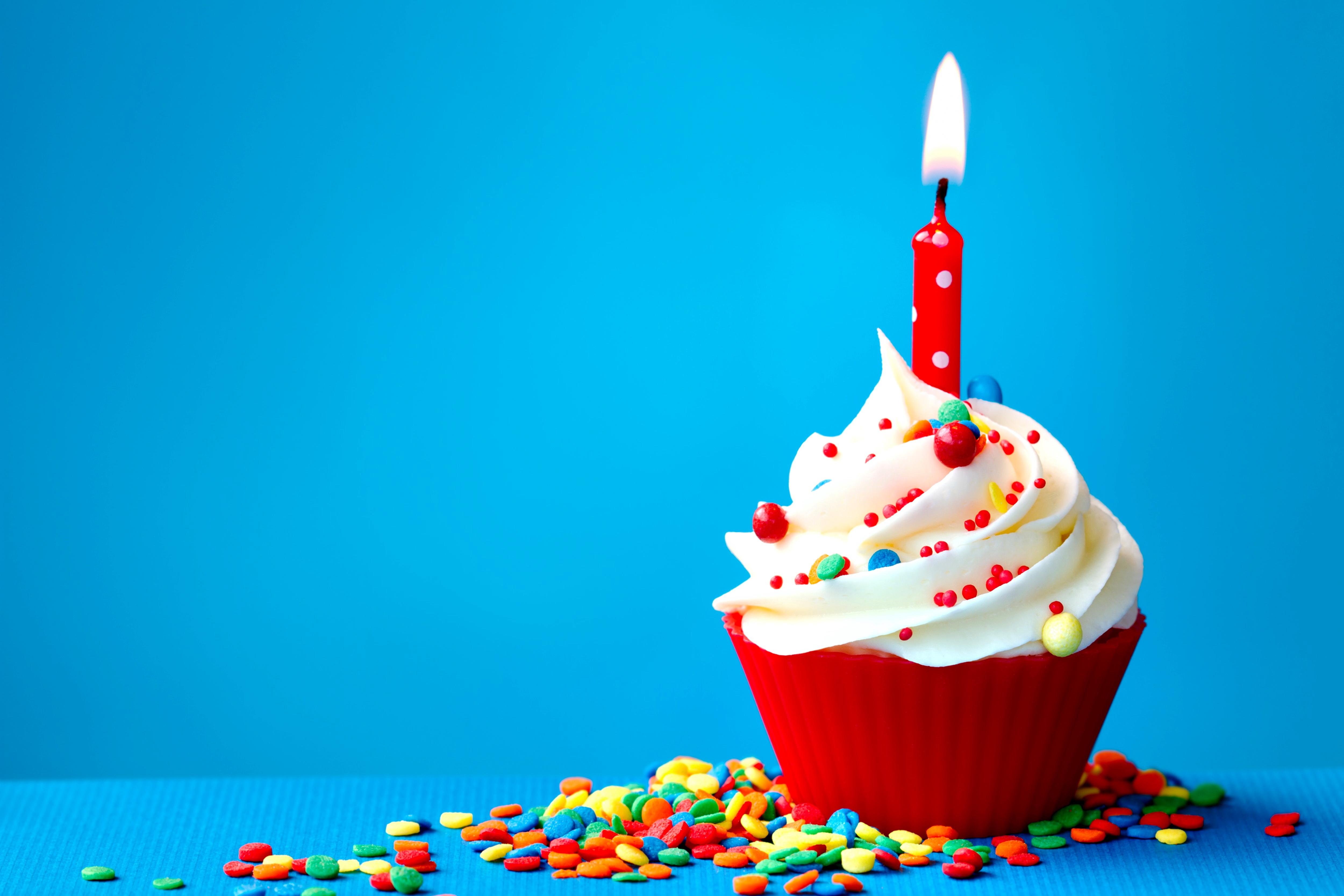 Birthday Cake Desktop Background 5000x3334
