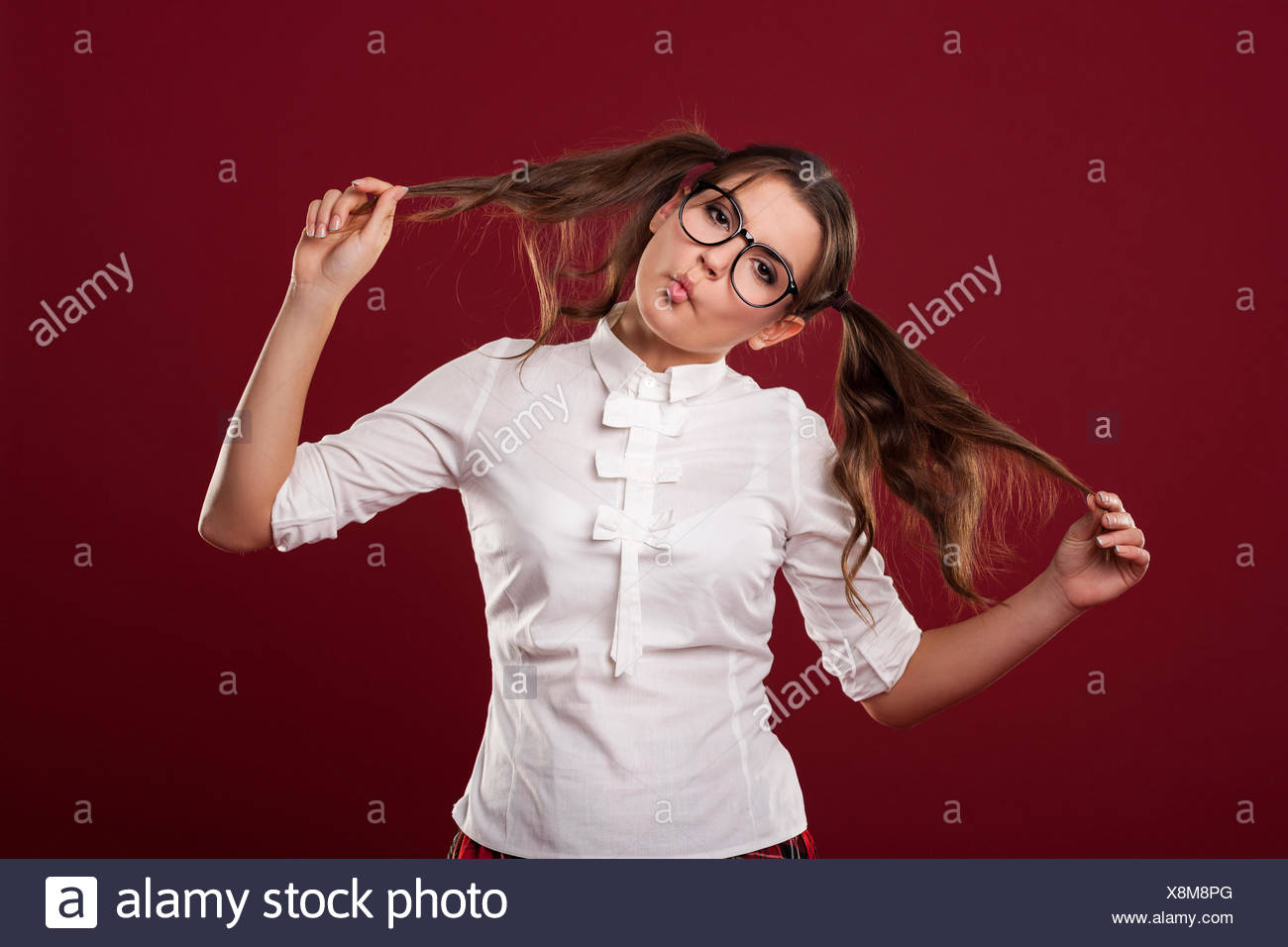 Unfashionable Woman Stock Photos Unfashionable Woman Stock 1300x956