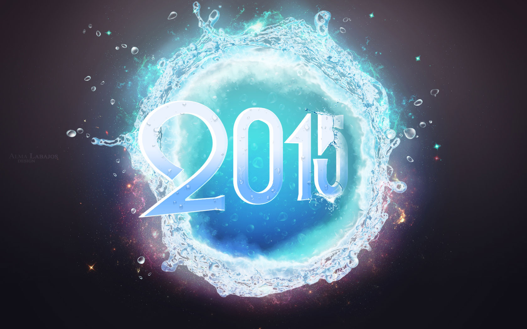 Happy New Year 2015 Wallpapers Images Facebook Cover photos 1680x1050