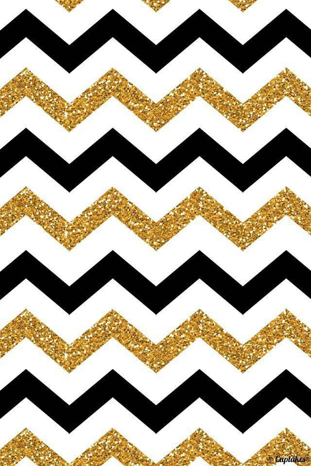 Black and white and gold patterns My Cheveron patterns Chevron 640x960