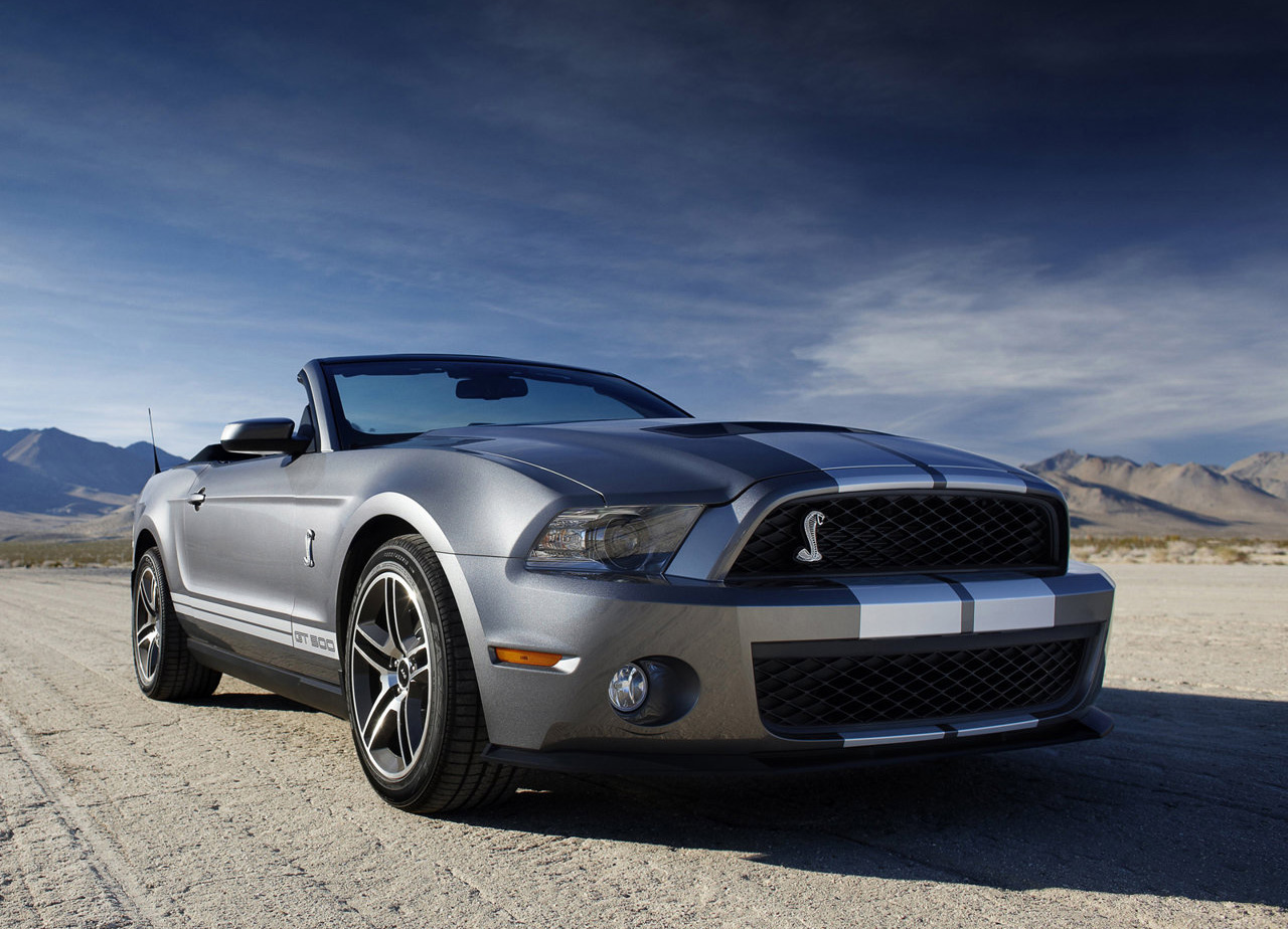 CAN DOWNLOAD ALL THE RELATED WALLPAPERS OF Ford Mustang Shelby gt500 1280x924