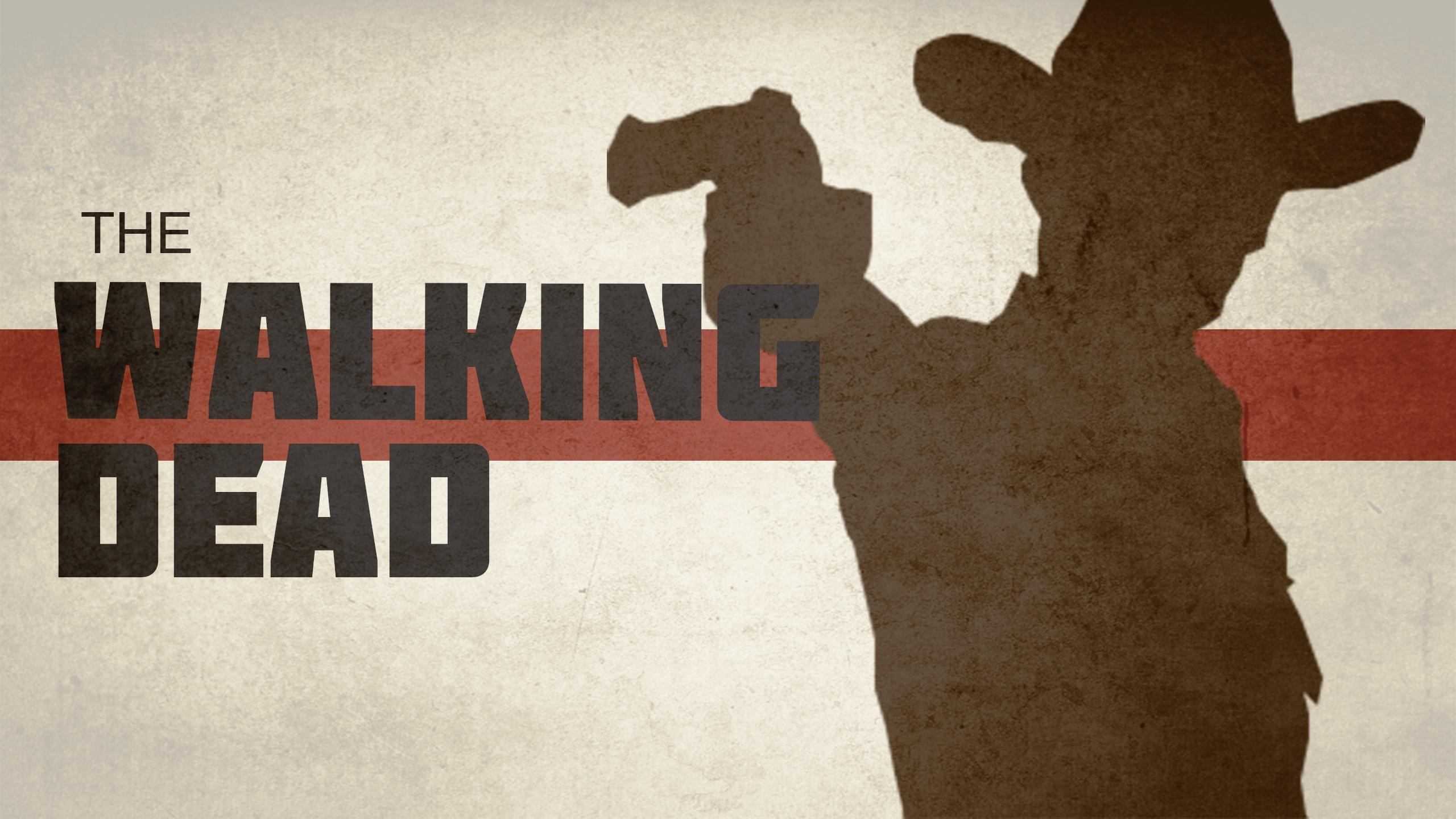 The Walking Dead background Wallpaper 2560x1440