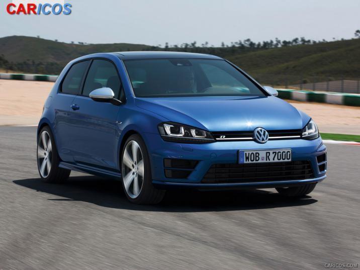 2014 Volkswagen Golf R   Front HD Wallpaper 9 1920x1080 716x537