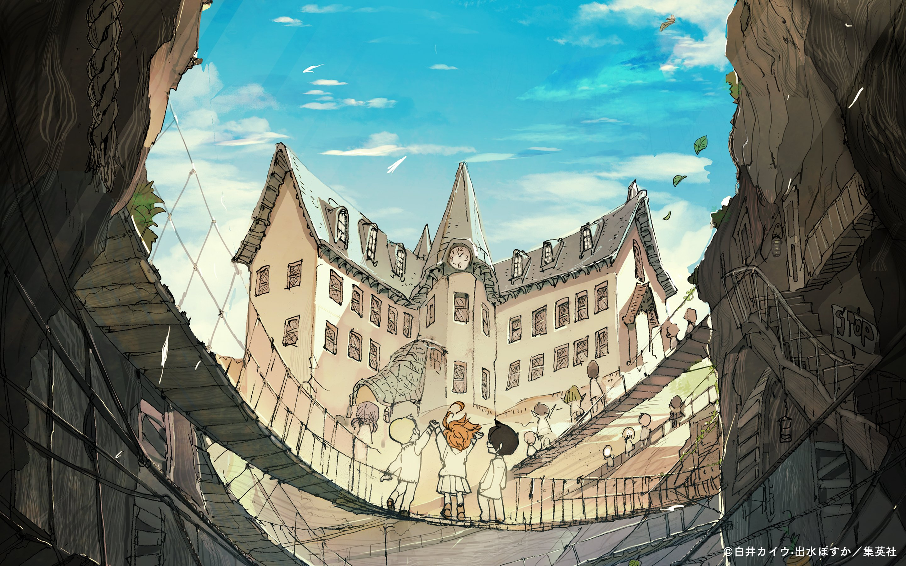 Emma The Promised Neverland Wallpapers old school   Wallpaper Cart 2880x1800