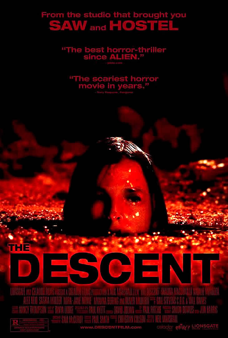 THE DESCENT 3   horror movie posters wallpaper image 730x1080