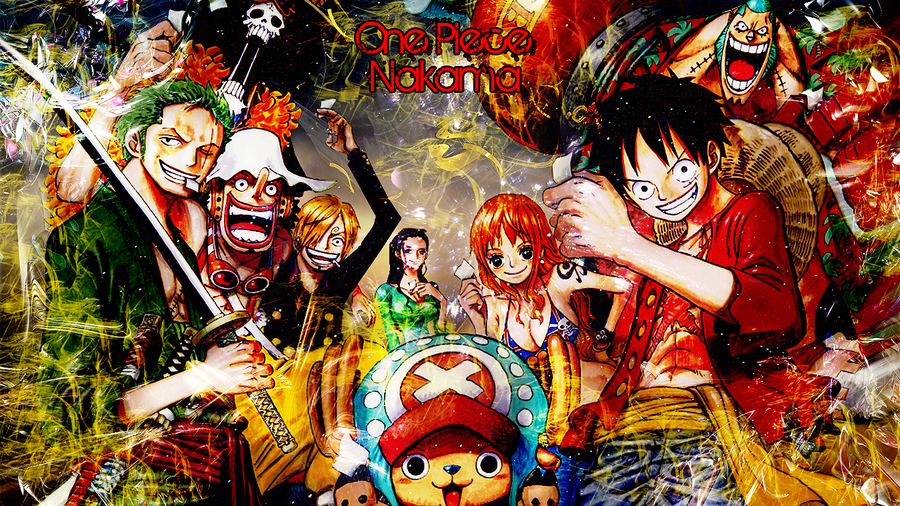 One Piece Desktop Background by Ichiiigogo 900x506