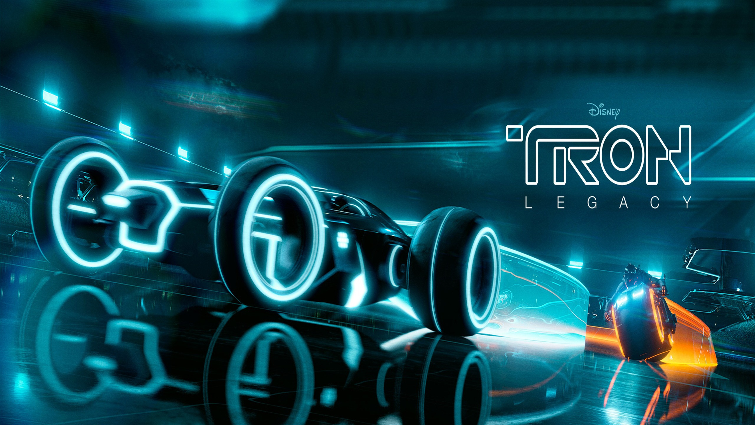 Tron Wallpaper 4K 2560x1440