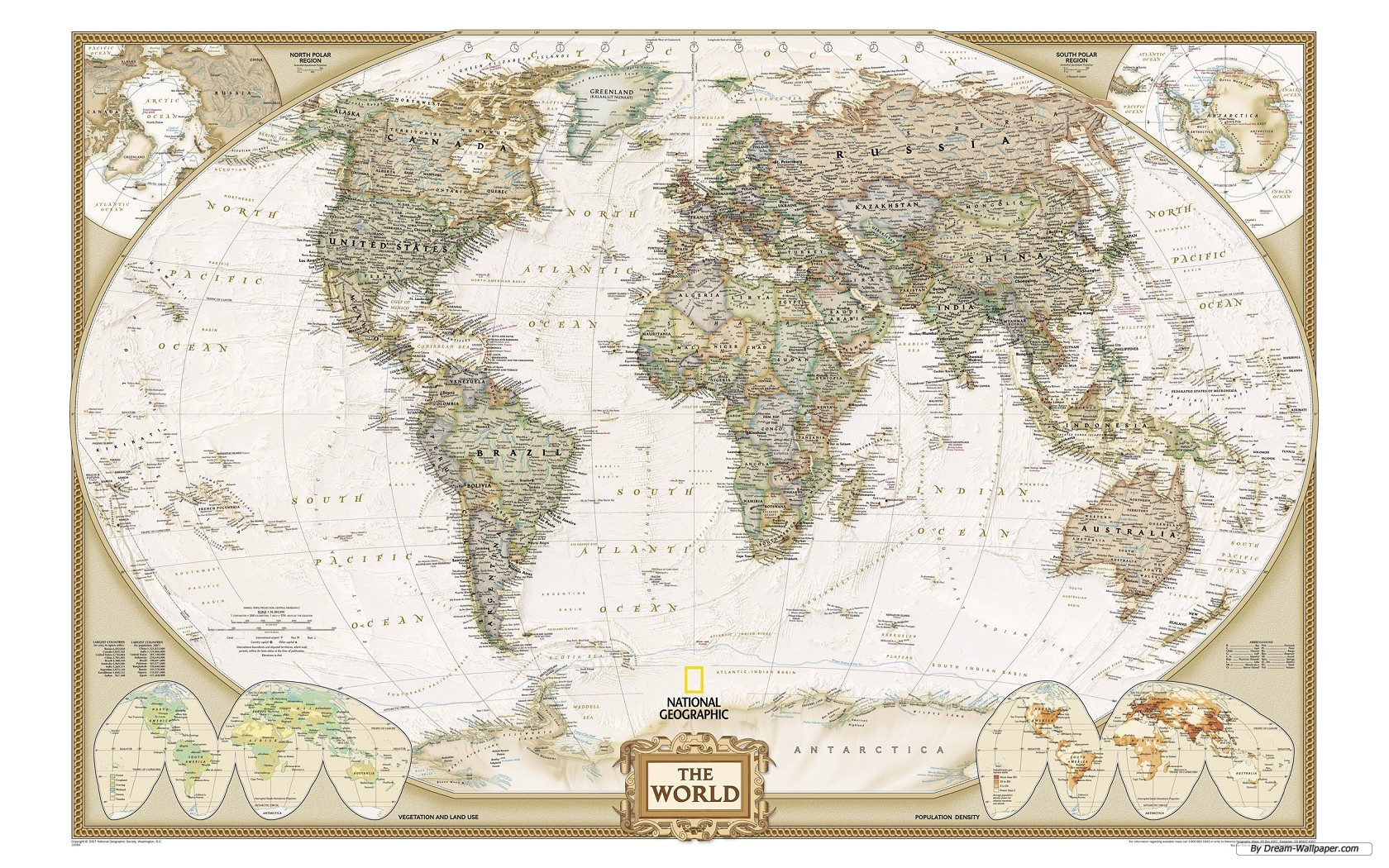 Map of the World Background Download HD Wallpapers 1680x1050