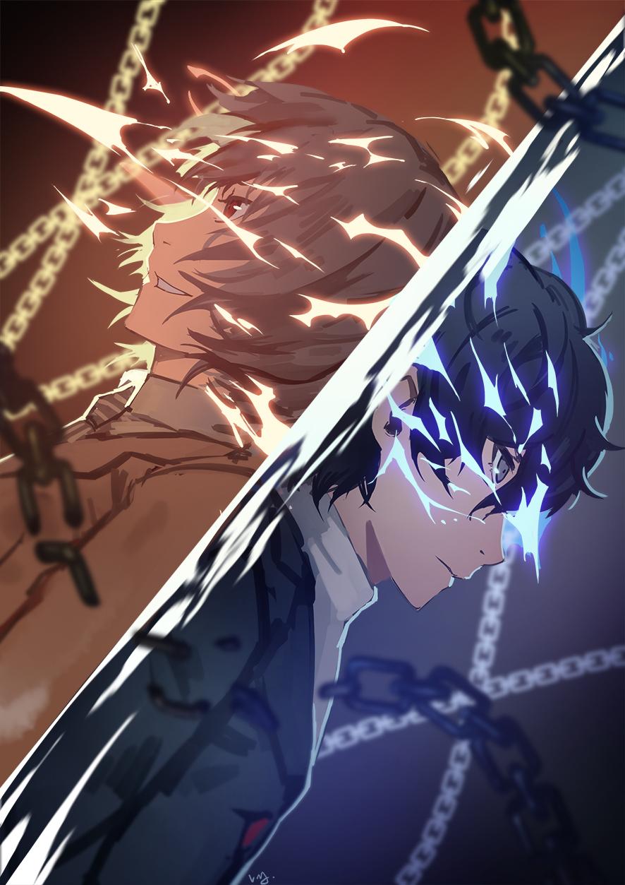 Akechi Goro Mobile Wallpaper   Zerochan Anime Image Board 886x1253