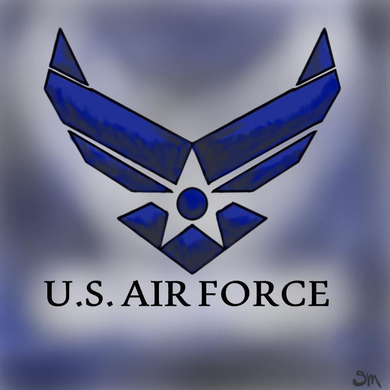 Air Force Logo Wallpaper 800x800