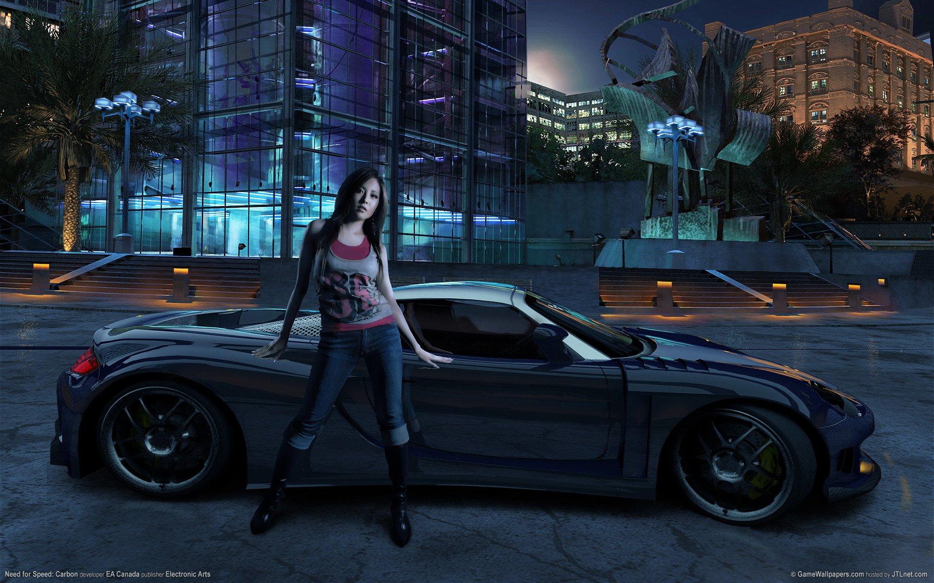 Need for Speed Carbon Girl Wallpaper HD Car Wallpapers 1920x1200