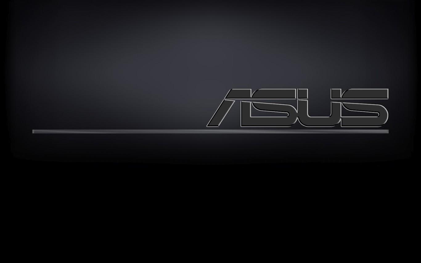 Asus Black Wallpaper: Black ASUS Wallpaper 1366x768