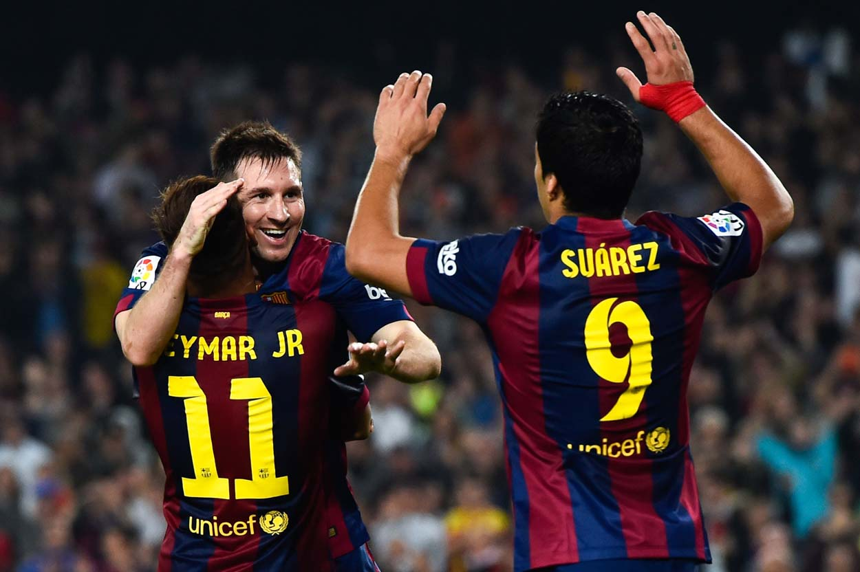 Messi And Neymar And Suarez Wallpapers 1250x832