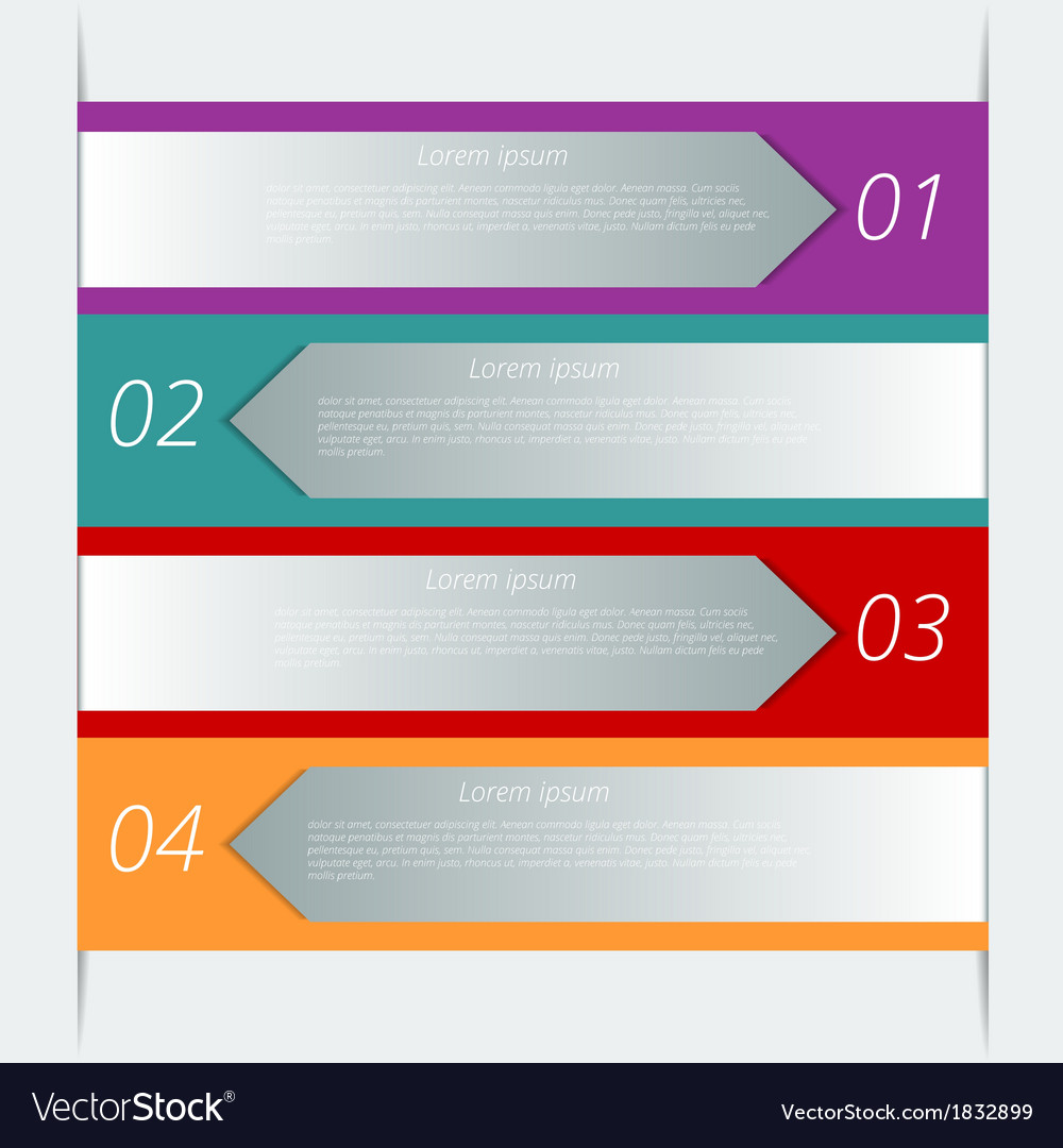 Infographic background design Royalty Vector Image 1000x1080