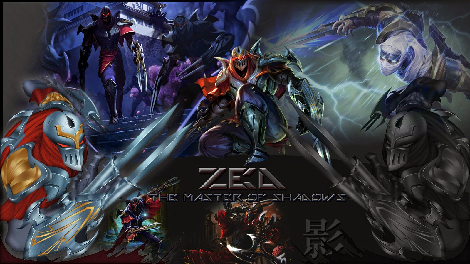 Free Download Zed League Of Legends Wallpaper Zed Desktop