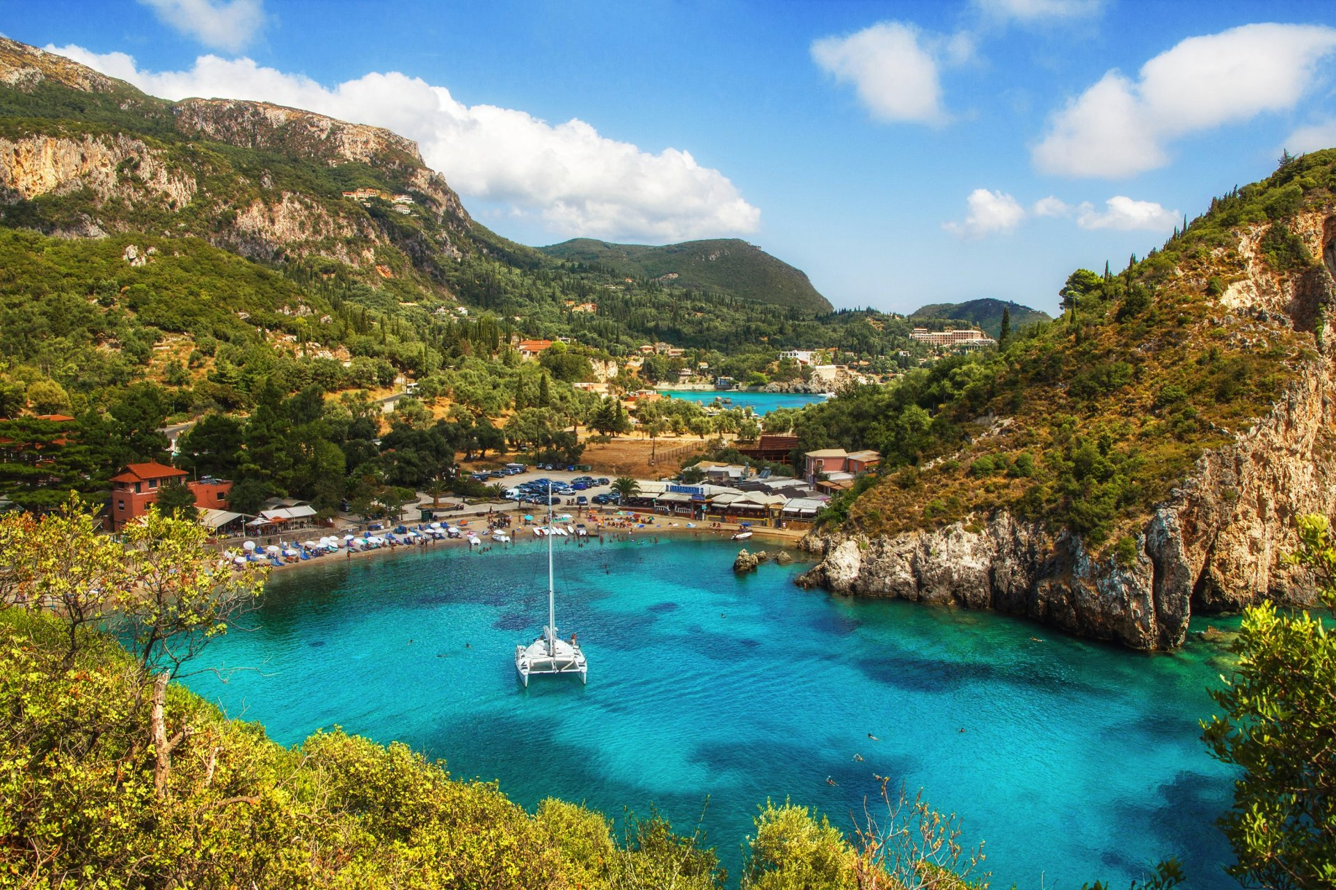 1 Corfu HD Wallpapers Background Images 1920x1280