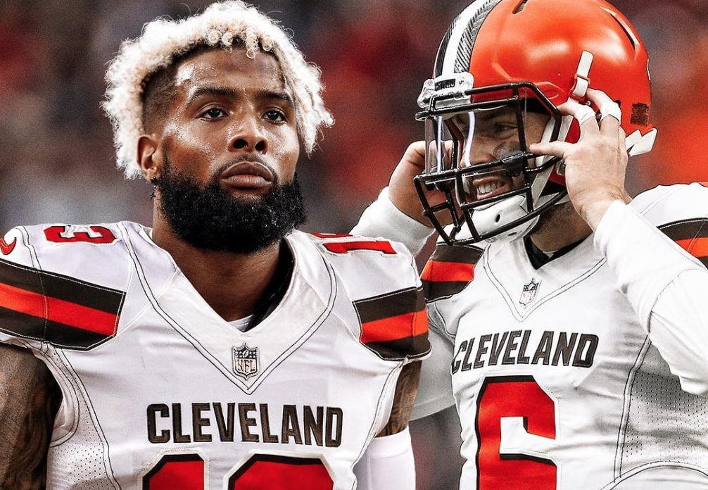 Cavs Players Clown on Odell Beckham Jrs Move to Cleveland Browns 1006x696