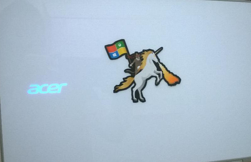 Microsofts ninja cat unicorn graphic has become a web sensation 803x519