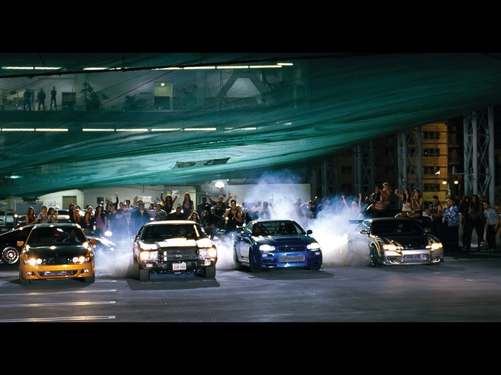 Fast Furious Movie Cars   Race   1024x768   Wallpaper 1024x768