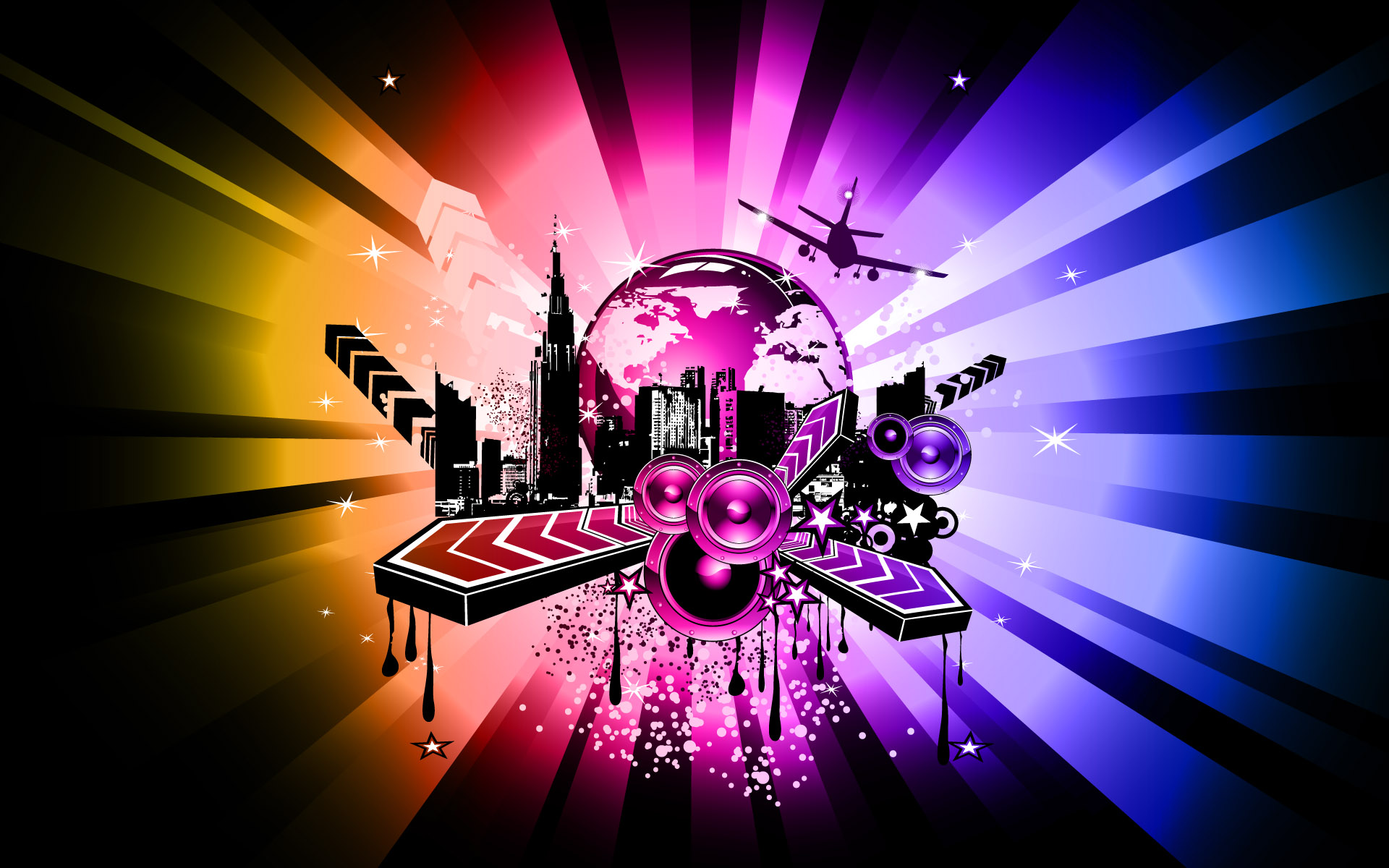 Desktop Wallpaper Music wallpaper Abstract Desktop Wallpaper Music 1920x1200