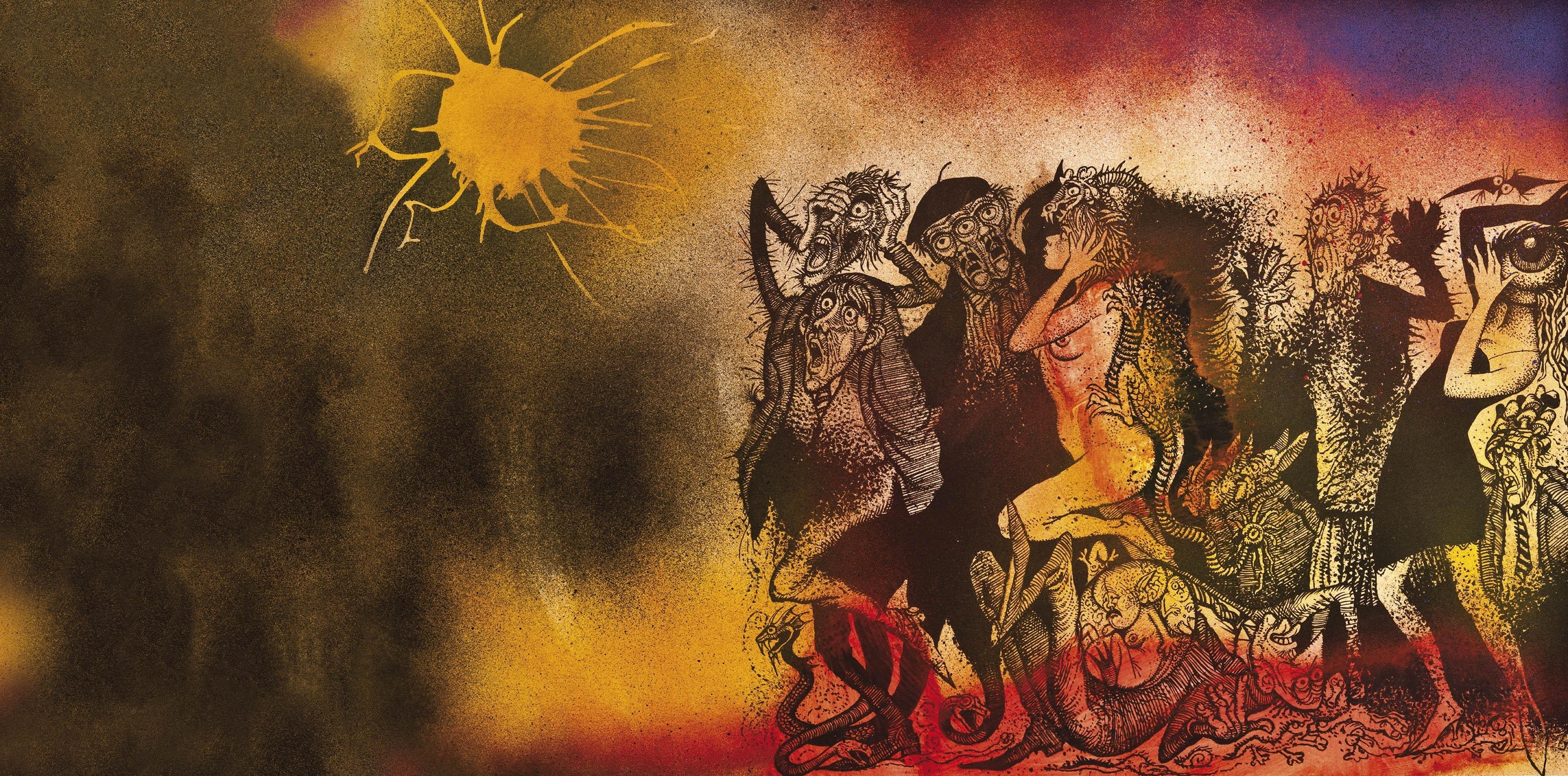 Download Wallpapers Download 1680x1050 artwork storm 1680x1050