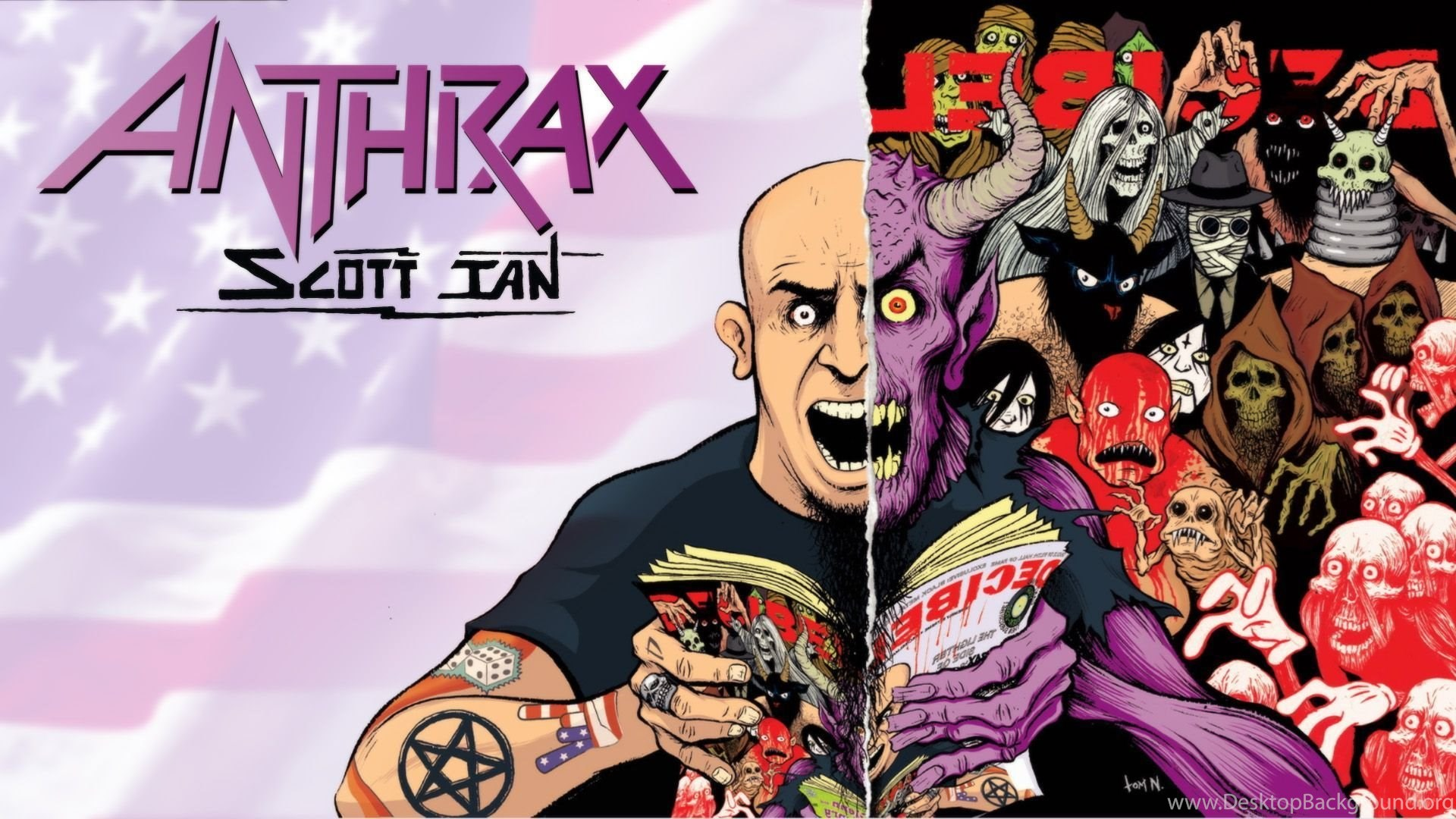 Anthrax Wallpapers and Background Images   stmednet 1920x1080